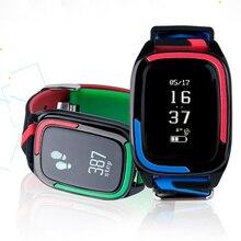 Пульт дистанционного управления Спорт Смарт наручные DB05 Bluetooth Smart Браслет сердечного ритма артериального давления фитнес-трекер для androidios