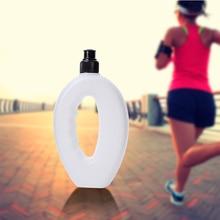 Беговая бутылка для воды 500 мл без бисфенола Спортивная бутылка ручная Беговая бутылка для воды спортивная крышка