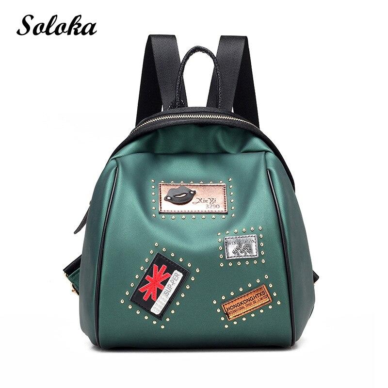 Hot Brand Lovely Top-handle Leather Backpacks Women Shoulder Bags School Teenage Girls Travel Bagpack Mochila High Quality