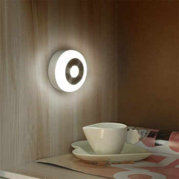 ROSTSTAR LED Light USB Powered Human Sensor LED Night Light Photosensitive and Infrared Small LED Night Lamp For Smart Home