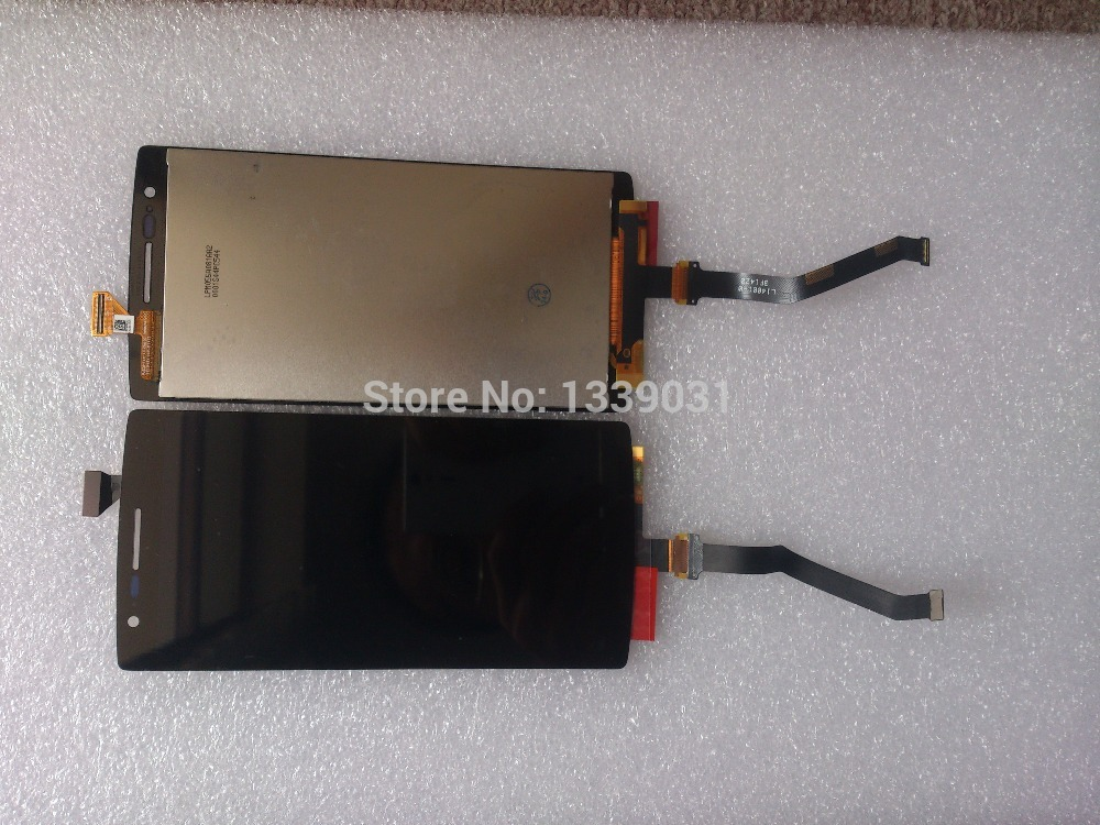 100% NEW Original Oneplus One LCD Display + Touch Screen for Oneplus One 64GB 16GB Replacement Professional Package 100%tested