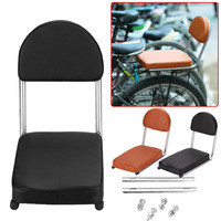 Back Seat Cushion Mountain Bike Shelves Thickening PU Leather Child Safety