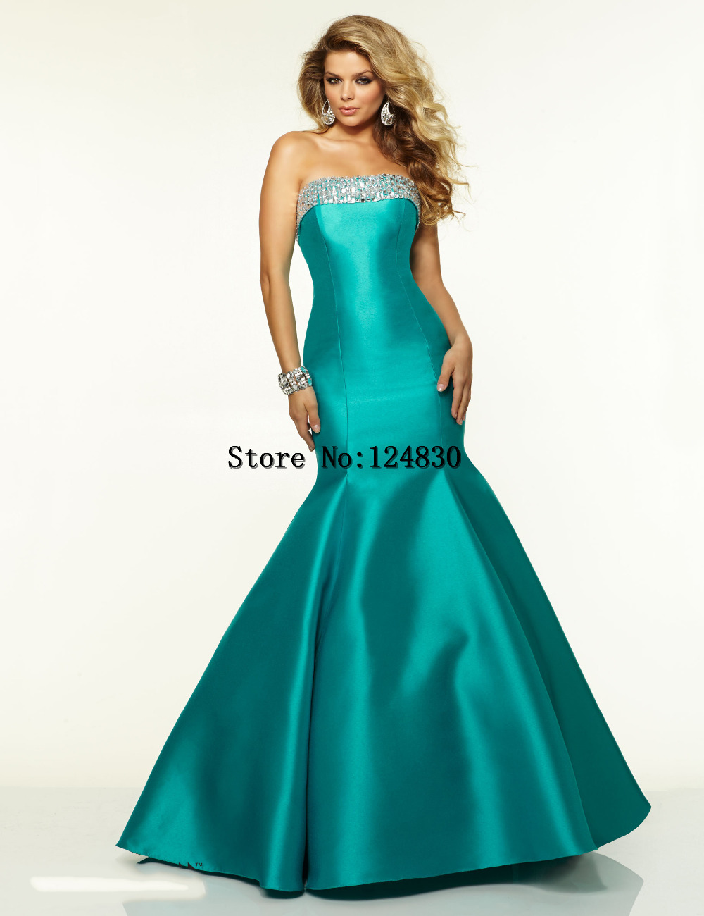 Free Shipping Cheap 2016 Plus Size Mermaid Prom Dresses Floor ...