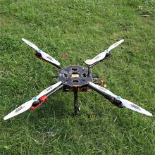 Tarot 650 Sport Quadcopter TL65S01 with SunnySky X4108S Motor & Hobbywing ESC & 1555 Wood Propeller for FPV Drone