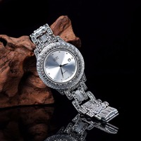 Hot Sale Top Quality Men`s Watch Limited Classic Real S925 Silver Men Watch Men Real Silver Bracelet Watches Real Silver Bangle