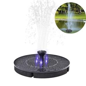 Image 1 - 2.4W LED fontaine solaire Kit darrosage puissance pompe solaire piscine étang Submersible cascade flottant panneau solaire fontaine deau pompe