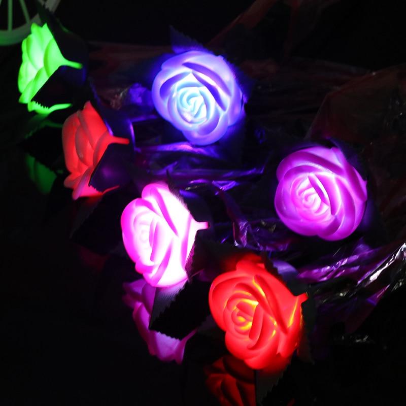 Nova ruža romantični otvoreni dvorište vrt put put tulipani bar - Rasvjeta za odmor - Foto 1