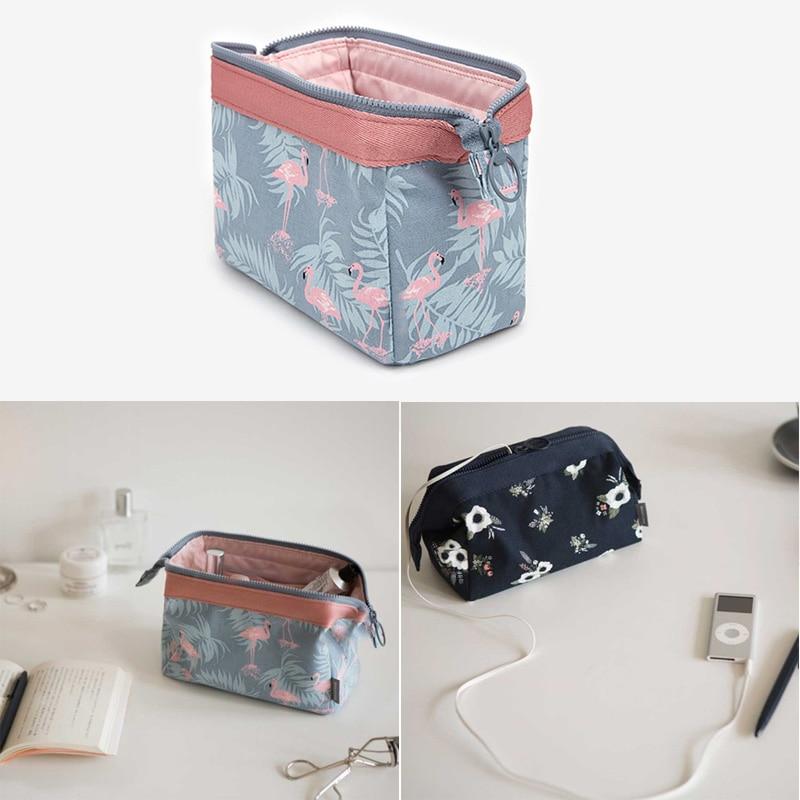 Klsyanyo New Portable Large Capacity Multifunction Travel Cosmetic Bag Small Organizer Case Makeup Bag Wash Stuff Storage Bags