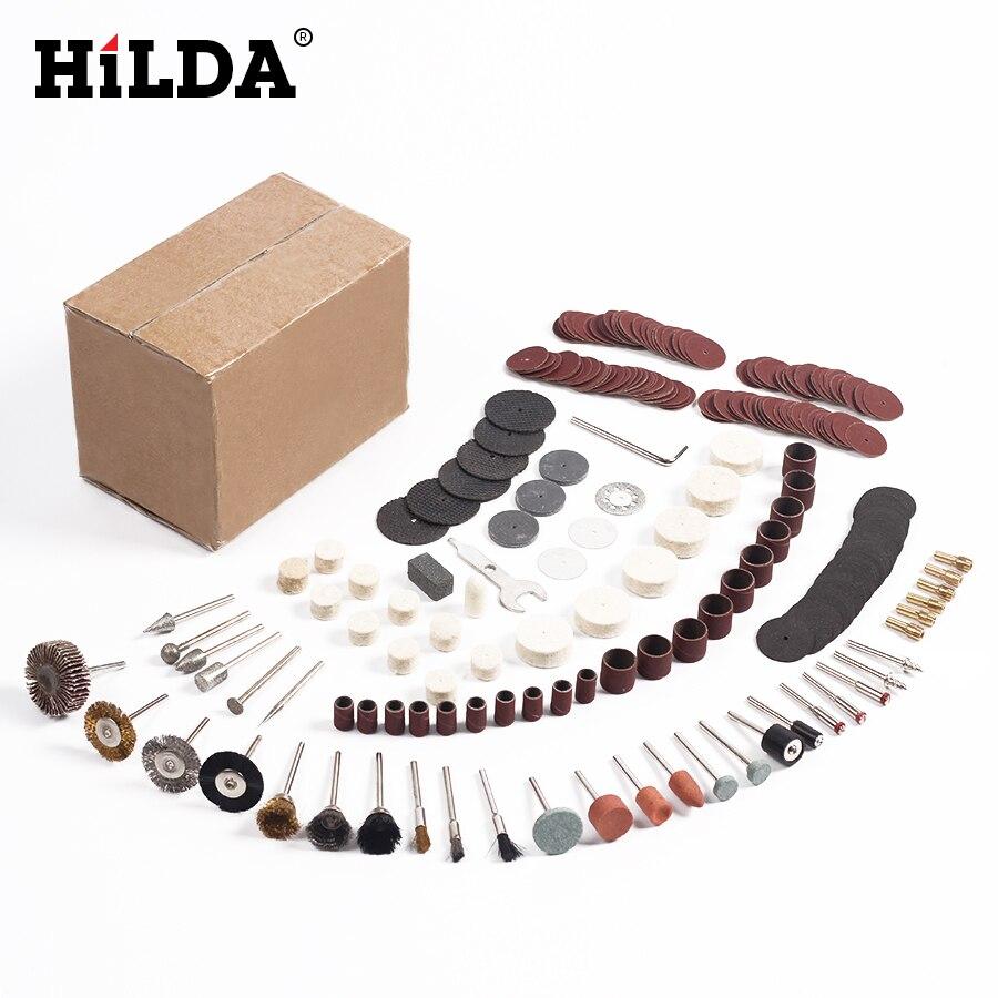HILDA 264 pz/set per Dremel Rotary Accessori Strumenti Set Adatto per Dremel Drill Grinding Lucidatura Accessori Dremel
