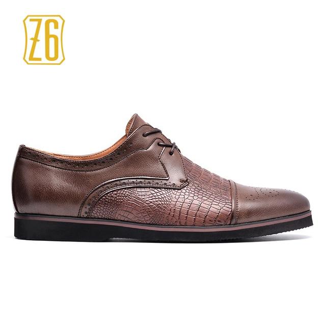 Z6 Nam Giày 2019 Mới Thoải Mái Thương Hiệu Thời Trang Người Đàn Ông Giản Dị Giày # W6652-3