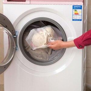 Image 5 - 3 גודל רשת שק כביסה גרבי תחתוני כביסה מכונת ClothesClothing מתקפל מסנן תחתוני חזיית שק כביסה כביסה