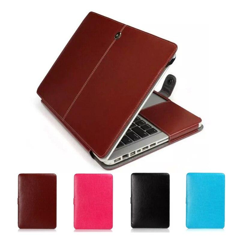 Dropproof PU Leather Laptop Case for font b Apple b font font b Macbook b font