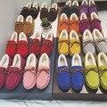2017 новых Горох обувь Мода теплые ботинки Сплошной цвет пхг снега сапоги Удобные плоские туфли женская обувь