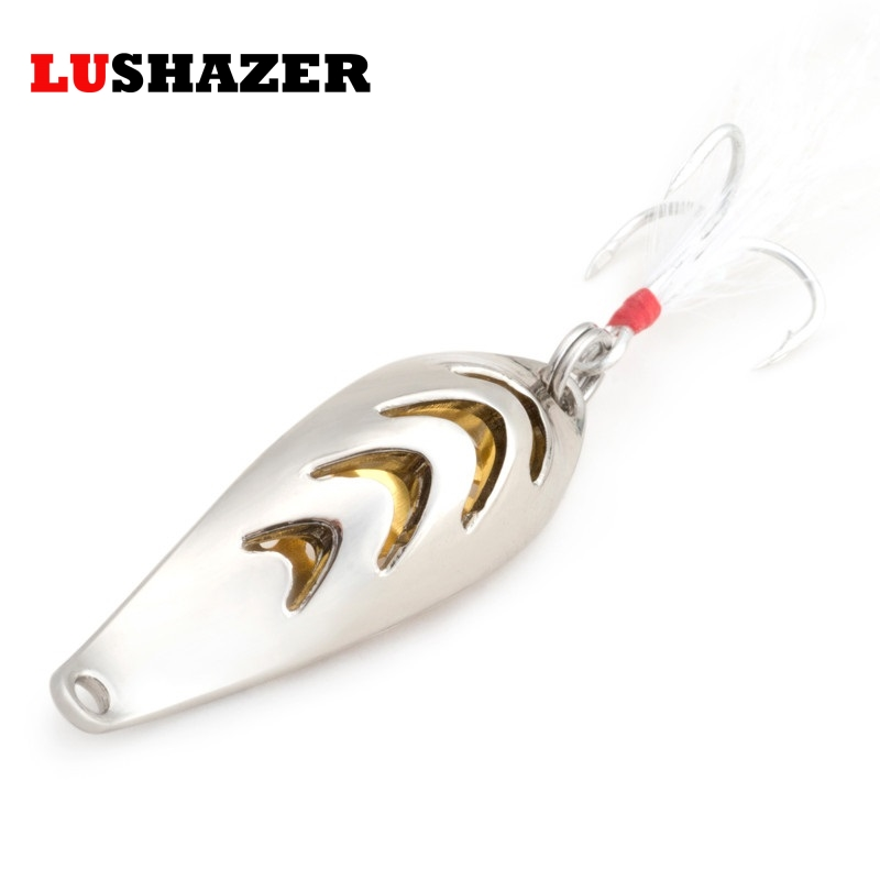 Fishing spoon 10g 52mm metal lures bass carp ice fishing lure isca artificial baits winter tackles wobbler leurre peche 4pcs fishing wobblers lures spinners metal spoon bait wobbler lure artificial bass baits peche tackle kit carp spinnerbait 5cm