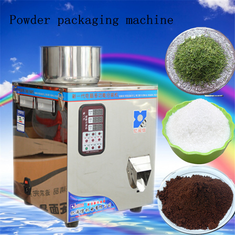 1g-100g food filling machine ,automatic powder filling machine, With viscous packaging machine,muti-function racking machine 2017 commercial 2g 100g food filling machine auto powder filling machine viscous packaging machine muti function racking machine