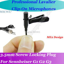 MICWL New Wireless Lavalier Lapel Microphone for Sennheiser G1 G2 G3 Mic System