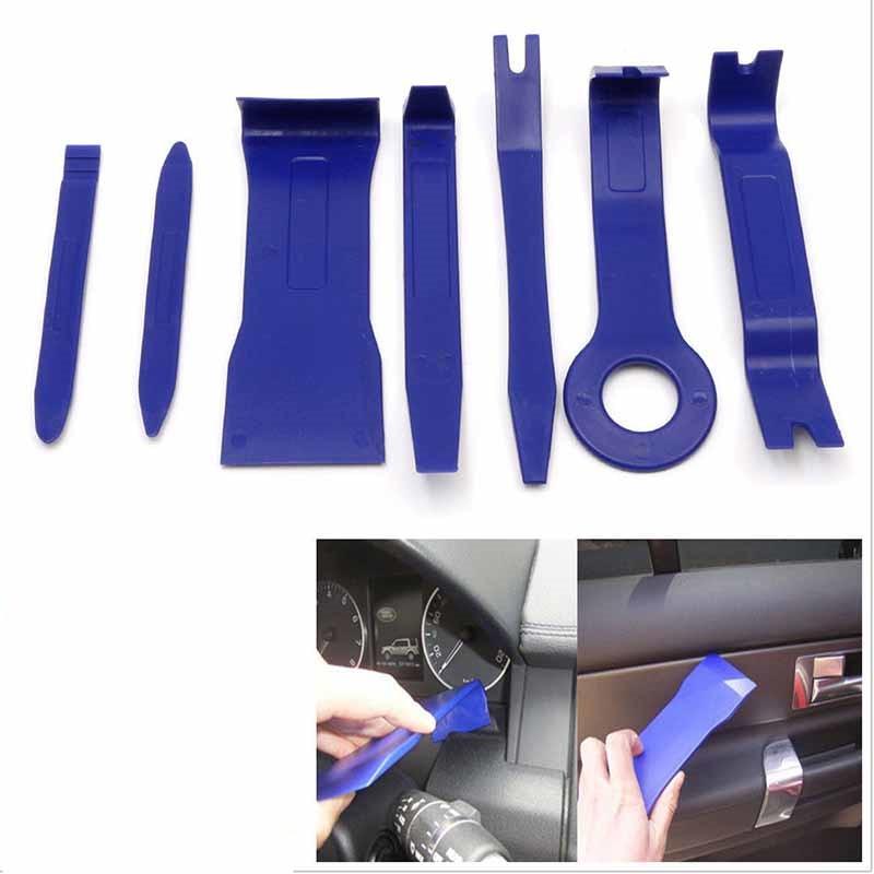 C-FUN 20Pcs 7Mm Moto Car/énage Rivet Garniture Panneau De Fixation Clips en Plastique pour Suzuki Garniture