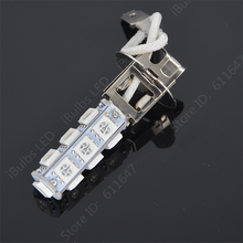 1Pcs High Quality H3 13 SMD LED 5050 Car Auto Fog Light Bulb Lamp DC12V Replace For HID Xenon Halogen Lights(China)