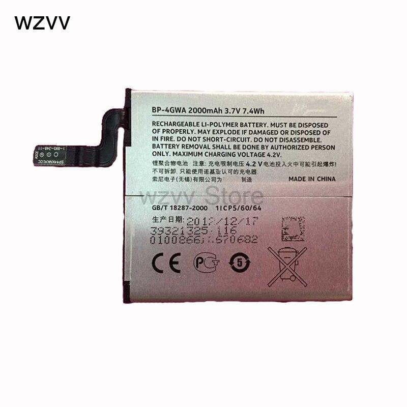 wzvv BP-4GWA phone battery for Nokia Lumia 625 Max Lumia625H Lumia 720 720t RM-885 zeal 2000mAh