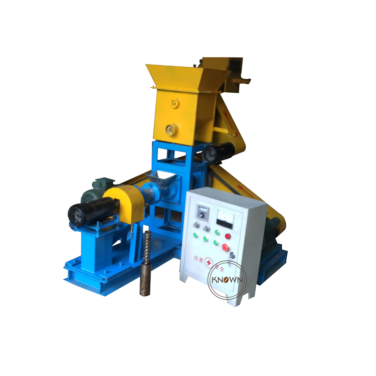 1 12MM mould Widely used 30 40kg/h floating pet feed dog food extruder fish feed pellet making machine|Food Processors| |  - title=