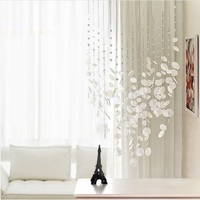 Finished product 12 strings shell crystal bead curtain can be customized decoration door crystal curtain porch partition