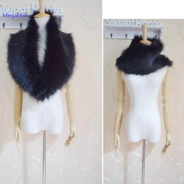 bufanda cuello de invierno moda de piel la 2014 nueva abrigo Hot qRx0w8