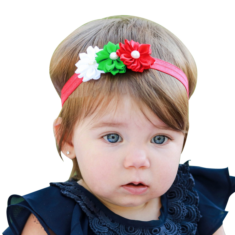 1 Piece MAYA STEPAN New Children Girls Fashion 3 Flower Hair Head Band Baby Headdress Baby Newborn Headband Headwear Headwrap