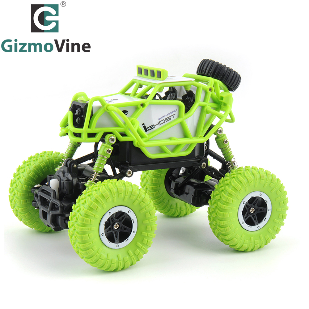 GizmoVine RC Car 1:43 R/C monster truck Mini RC Rock Crawlers 2.4Ghz Radio Remote control climb car Off-Road Model Vehicle Toys