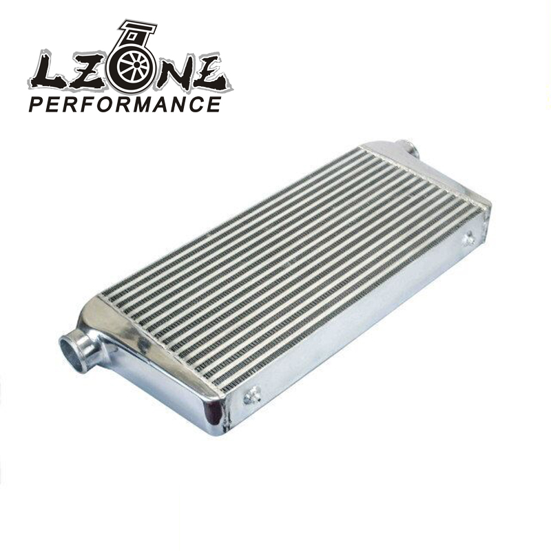 LZONE RACING - 600*300*76mm Universal Turbo Intercooler bar&plate OD=3.0 Front Mount intercooler JR-IN816-30 epman universal black 3 76mm polished aluminum fmic intercooler piping kit diy pipe length 600mm for bmw e46 ep lgtj76 600
