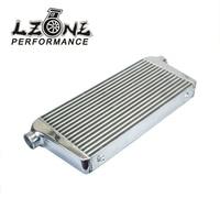 LZONE RACING 600*300*76mm Universal Turbo Intercooler bar&plate OD=3.0 Front Mount intercooler JR IN816 30