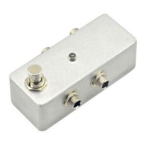 Мини-педаль эффектов, педаль эффектов для электрогитары, переключатель, детали и аксессуары