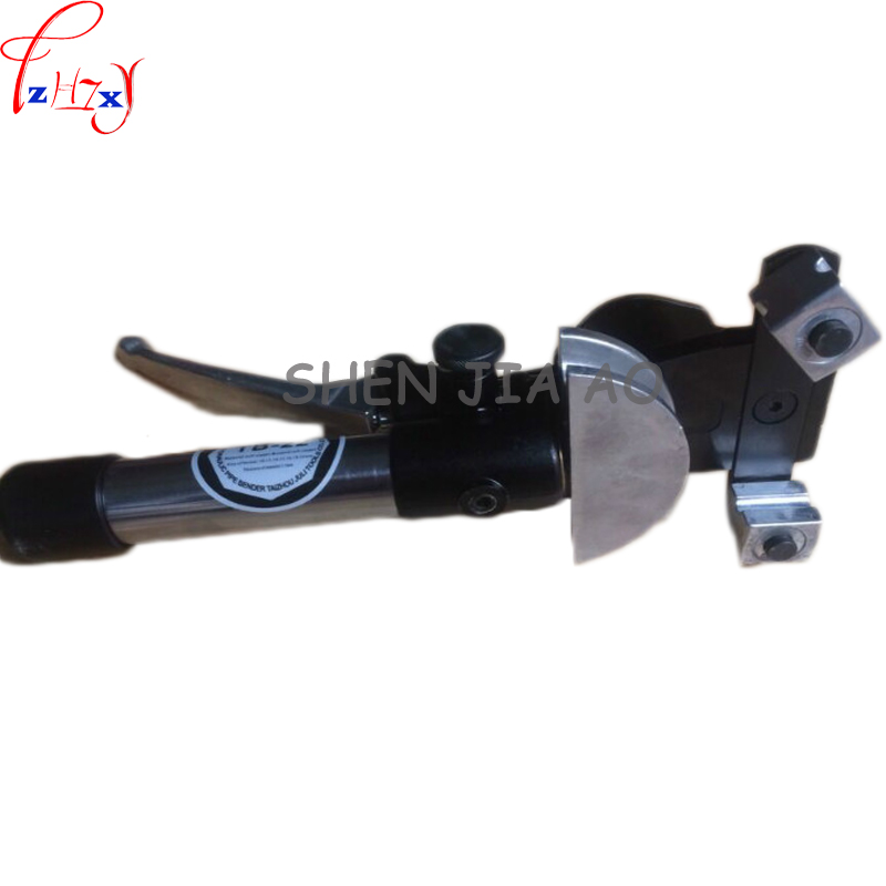 1pc TB-22 aluminum alloy manual hydraulic pipe <font><b>bending</b></font> tube brass fast positioning brass / hose <font><b>bending</b></font> machine 10-22mm
