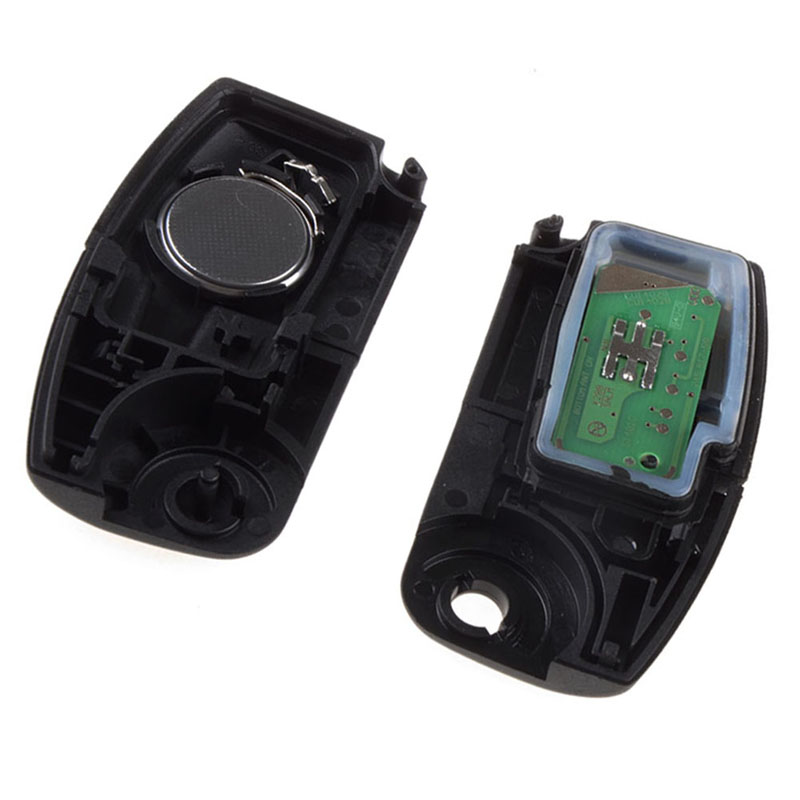 3 Ons Replacement Remote Auto Key For Ford Focus Mondeo Fiesta Frequency 433 92mhz Car With Battery And Chip P28 In From Automobiles