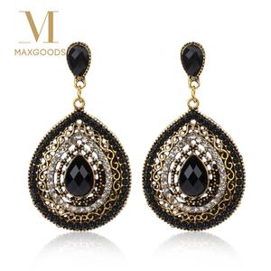 e3e2a52024a5c8 maxgoods 1 Pair Vintage Drop Earrings For Women Jewelry