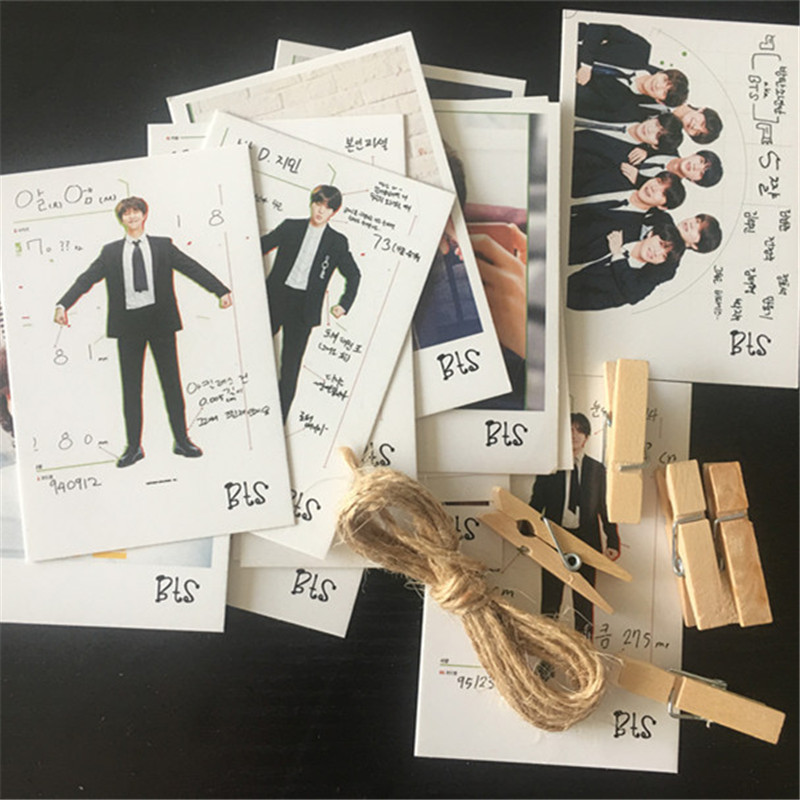 Costumes & Accessories 16pcs/set Kpop Bts Bangtan Boys Bt21 Lomo Photo Card Pvc Cards Self Made Card Photocard Map Of Soul Persona Jungkook Jin Hf225 Orders Are Welcome. Costume Props