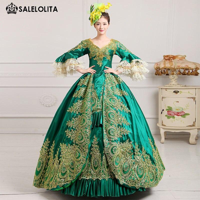 Исторической платье для бала
