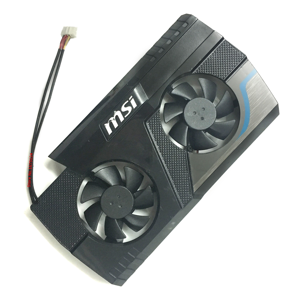 computer VGA cooler Graphics Cooling Fan with frame For MSI N430GT 520GT 610GT 620GT 630GT V5 Video Card cooling msi gtx970 gtx980 gtx980ti graphics card cooling fan