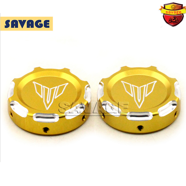 Подробнее о For YAMAHA MT-07 FZ-07 MT07 FZ07 2014-2016 Gold Motorcycle Accessories CNC Aluminum Front Fork Decorative Cover Cap NEW for yamaha mt07 fz07 mt 07 fz 07 2014 2015 2016 gold motorcycle cnc aluminum front fork tube slider cover gold blue red