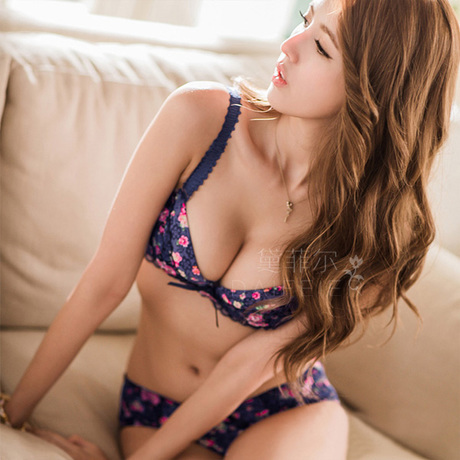 0e164337455 sexy lingerie 2015 New cheaper Pastoral flower beauty temptation gather  lace bra women Lingerie Sets retail wholesale-in Bra   Brief Sets from  Underwear ...