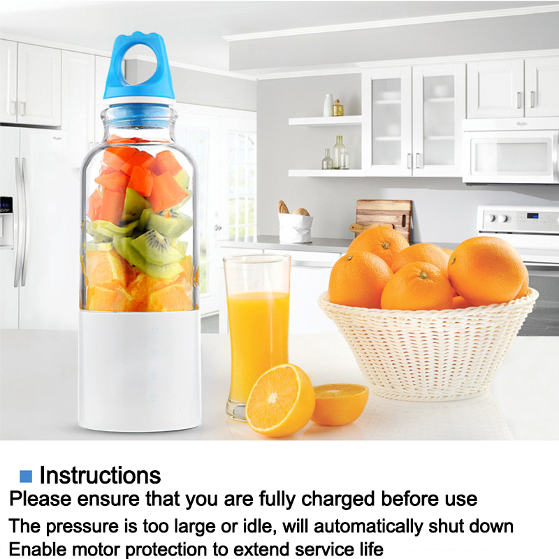 New double Xin portable electric juice cup stirring lemon cup mini USB charging juice cup household juicer kkstar fruit electric juice cup glass charging portable mini mini cyclone