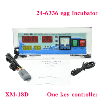 Digital automatic small egg incubator thermostat controller for humidity and temperature controlling XM-18D