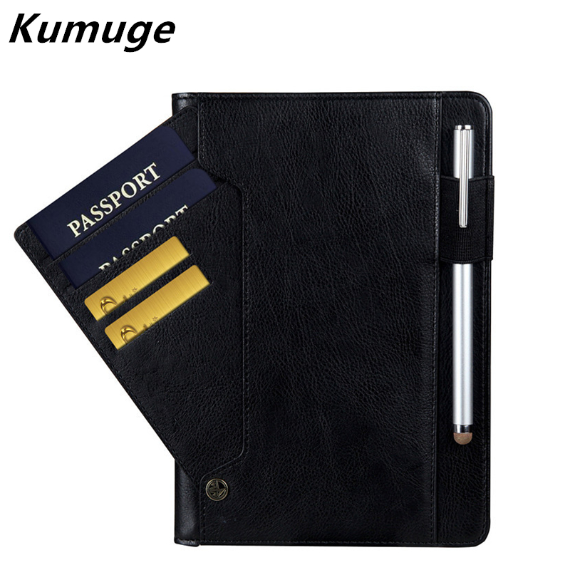 все цены на  Luxury PU Leather Case for iPad Mini 1/2/3 Business Flip Card Holder Stand Cover for iPad Mini 4 Wake Up Smart Sleep Capa Para  онлайн
