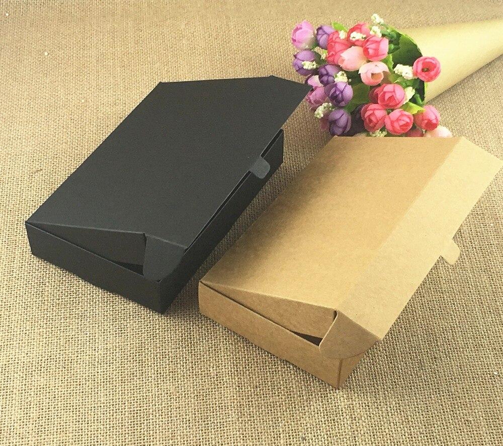 ④50pcs Lot Brown Kraft Craft Paper っ Jewelry Jewelry