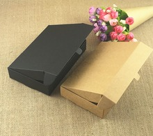 Cajas de papel Kraft para manualidades, caja de regalo pequeña para galletas, jabón hecho a mano, embalaje de dulces para fiesta de boda, 50 unidades/lote