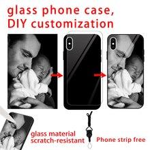 Personalized custom couple phone case for Samsung J4 caso para J6 J8 DIY Galaxy Core Plus j8 2018