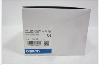 Free shipping  New and original ZEN-20C1AR-A-V2 OMRON Programmable relay AC100-240V