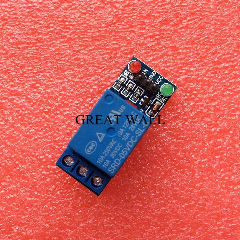 1pcs 5V low level trigger One 1 Channel Relay Module interface font b Board b font