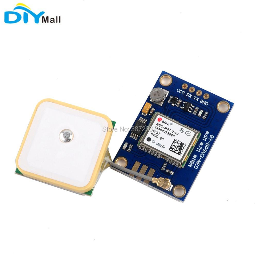Original GY-GPSV3-M8T NEO-M8T GPS Module NEO-M8T-0-10 NEO-M8T-0-01 GPS Antenna GLONASS GNSS for Arduino gnss dual mode usb gps galileo glonass receive module antenna ublox m8n gnss chip nmea0183 compatible alternative bu 353s4