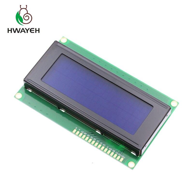New 1pcs/lot LCD Board 2004 20*4 LCD 20X4 5V Blue Screen Blacklight LCD2004 Display LCD Module LCD 2004 For Arduino