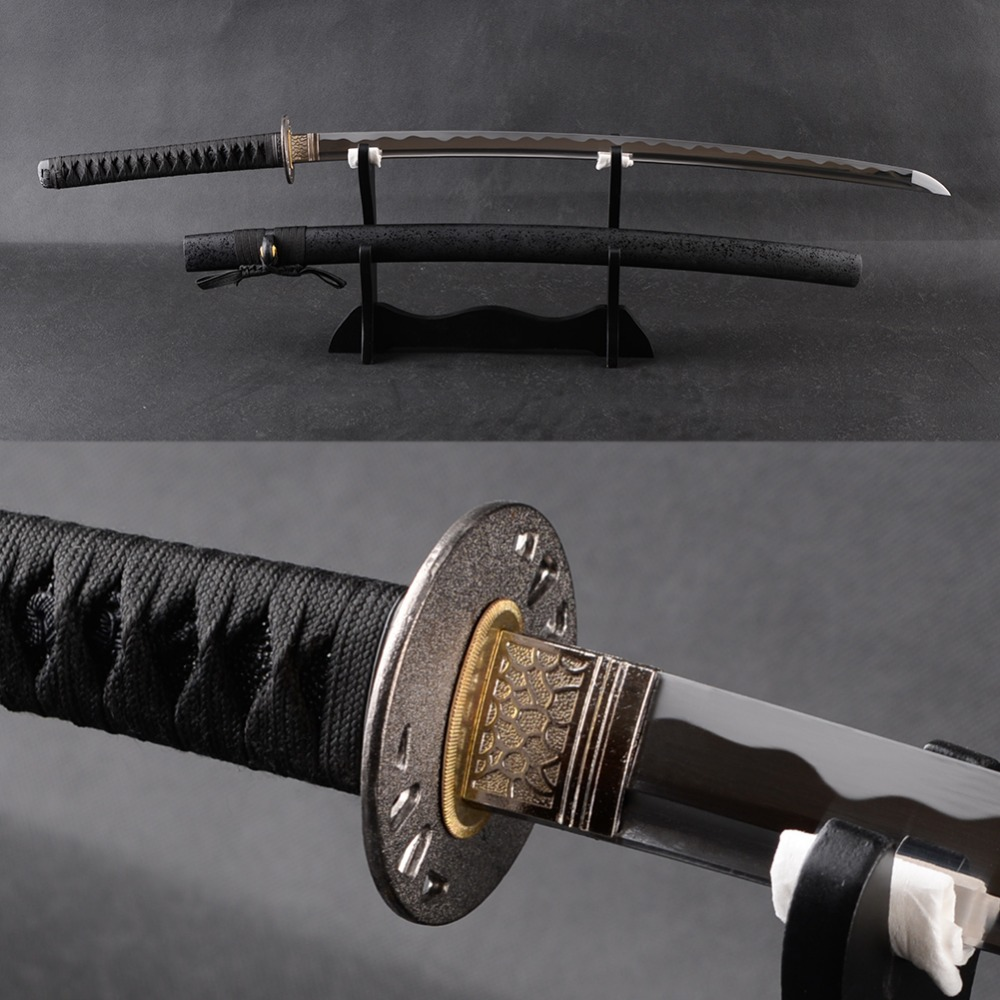 Popular Japanese Katana Samurai Sword High Carbon Steel Full Tang Blade Espada Very Sharp Samurai Cosplay Katana Knife PresentPopular Japanese Katana Samurai Sword High Carbon Steel Full Tang Blade Espada Very Sharp Samurai Cosplay Katana Knife Present